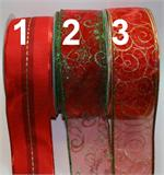 Christmas Pattern Ribbon