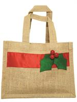 Jute holly bag